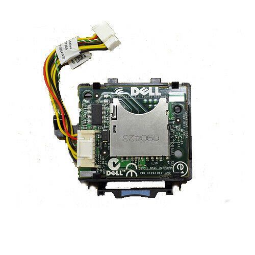 Dell R710 R610 T710 SD Card Reader Module RN354 & Cable